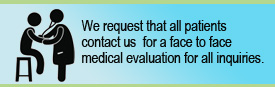 Dermatologist Newport Beach - Face to face  medical evaluation