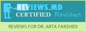 Dermatologist Newport Beach - Patient Reviews about Dr. Arta Farshidi